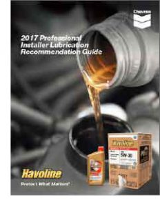 havoline lubrication recommendation guide guide front cover