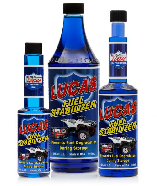 LUCAS FUEL STABILIZER (12 bottles – 1 qt ea) product photo