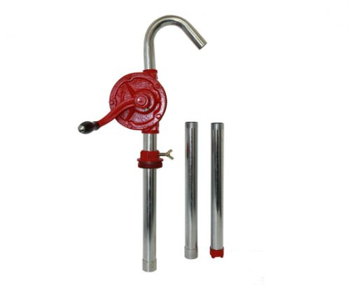 CAST IRON DIESEL ROTARY HAND PUMP – 2″ NPT (SUCTION PIPE INCLUDED) product photo