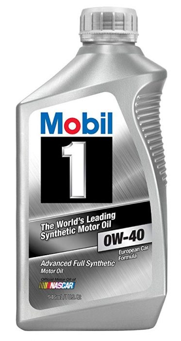 MOBIL 1 SUPERSYN 0W-40 (6 bottles – 1 qt ea) product photo