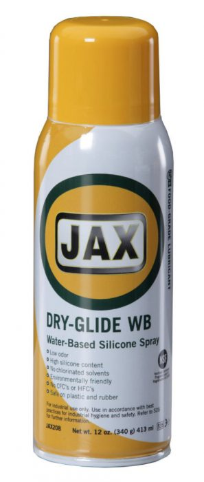 Jax Dry-Glide WB Food Grade Silicone (1 case of 12 12 oz. Cans) product photo