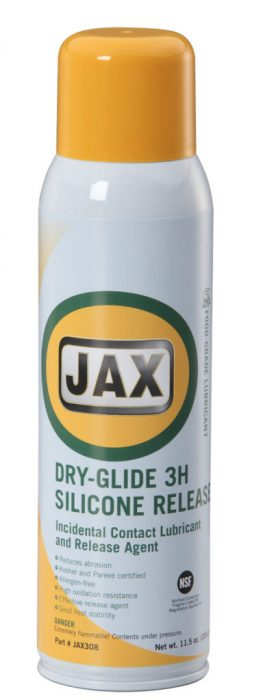 Jax Dry-Glide 3H Silicone Release (1 case of 12 11.5 oz. Cans) product photo
