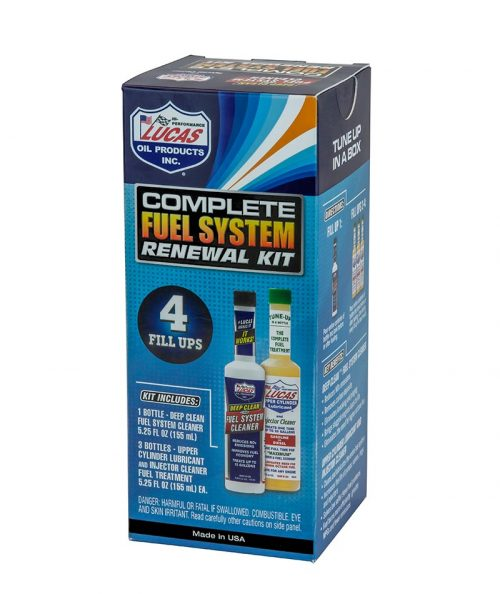 Lucas Oil Complete Fuel System Renewal Kit (6×1/4 Pack) product photo