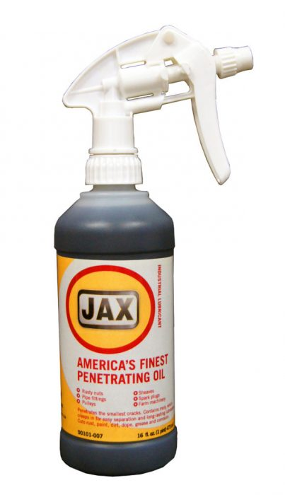 Jax America's Finest Penetrating Oil (1 case 12 16oz. trigger spray bottles) product photo