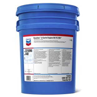 CHEVRON HAVOLINE 2 CYCLE ENGINE OIL (5 gallon pail) product photo