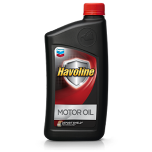 CHEVRON HAVOLINE MOTOR OIL 10W-30 (12 bottles – 1 qt ea) product photo