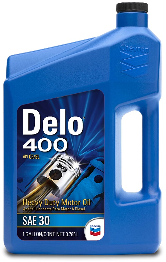 Chevron Delo 400 Sae 30 3 Bottles 1 Gallon Each