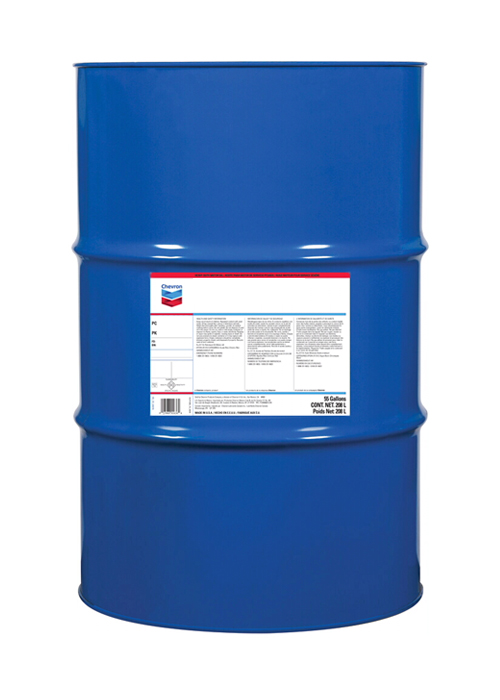 CHEVRON CLARITY HYDRAULIC OIL AW ISO 68 (55 gallon drum) product photo