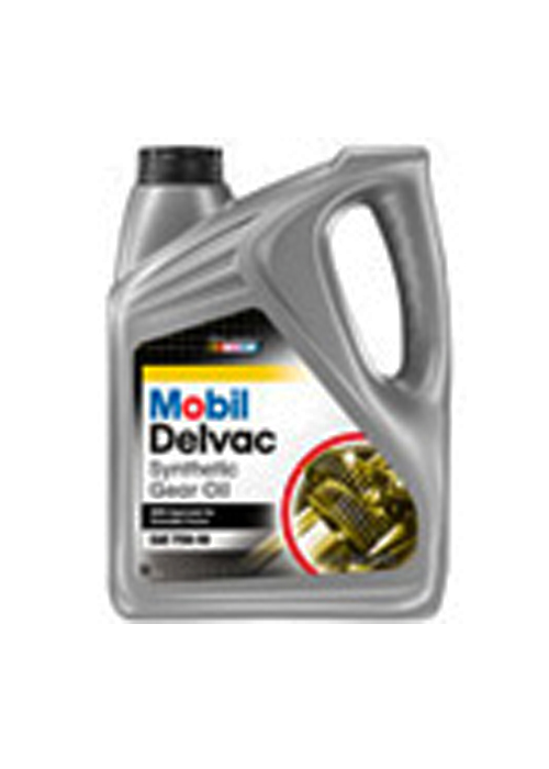 MOBIL DELVAC SYNTHETIC GEAR OIL 75W-90 (32 lb pail) product photo