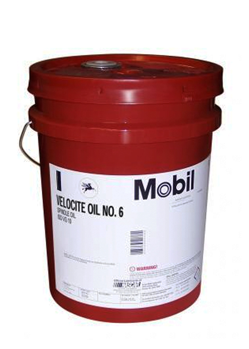 Mobil velocite oil no 6 5 gal pail alexis oil company for Heavy weight motor oil